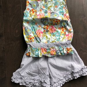 Persnickety tank and short set